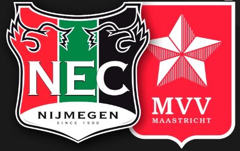 Wedstrijd NEC - MVV Maastricht
