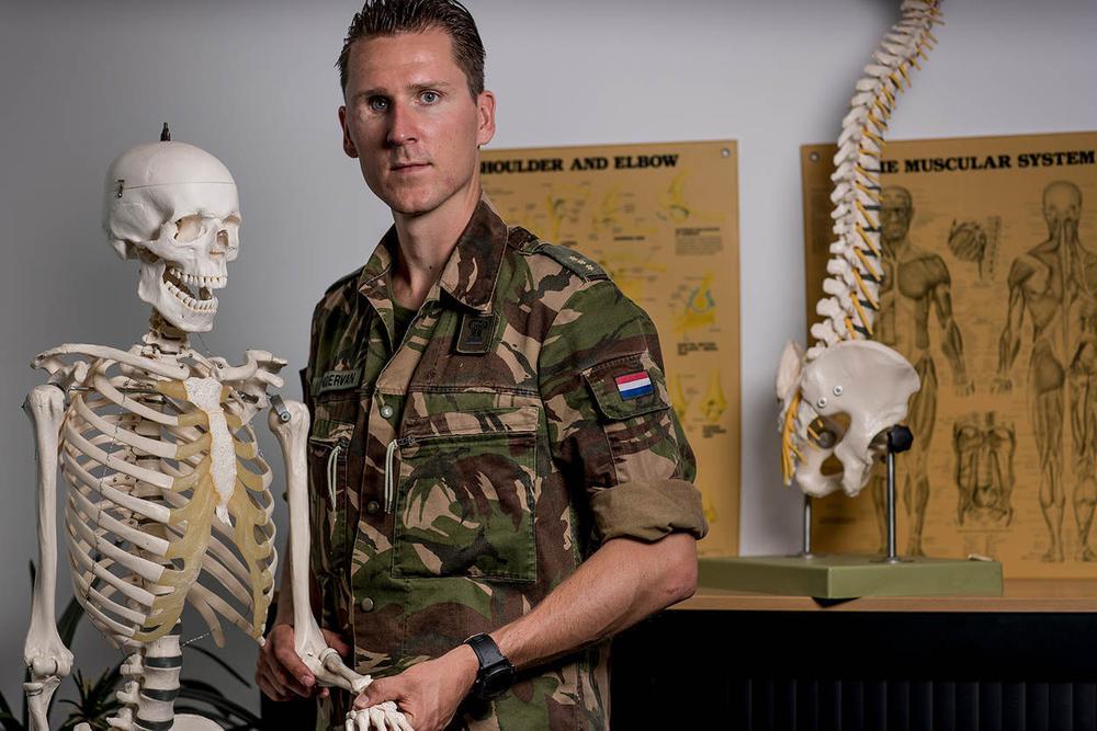 Fysiotherapie bij Defensie