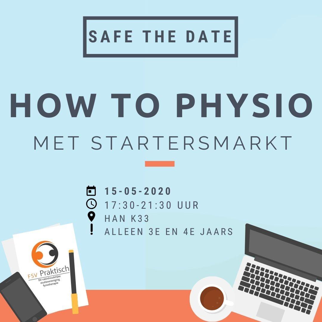 Save The Date - Startersmarkt